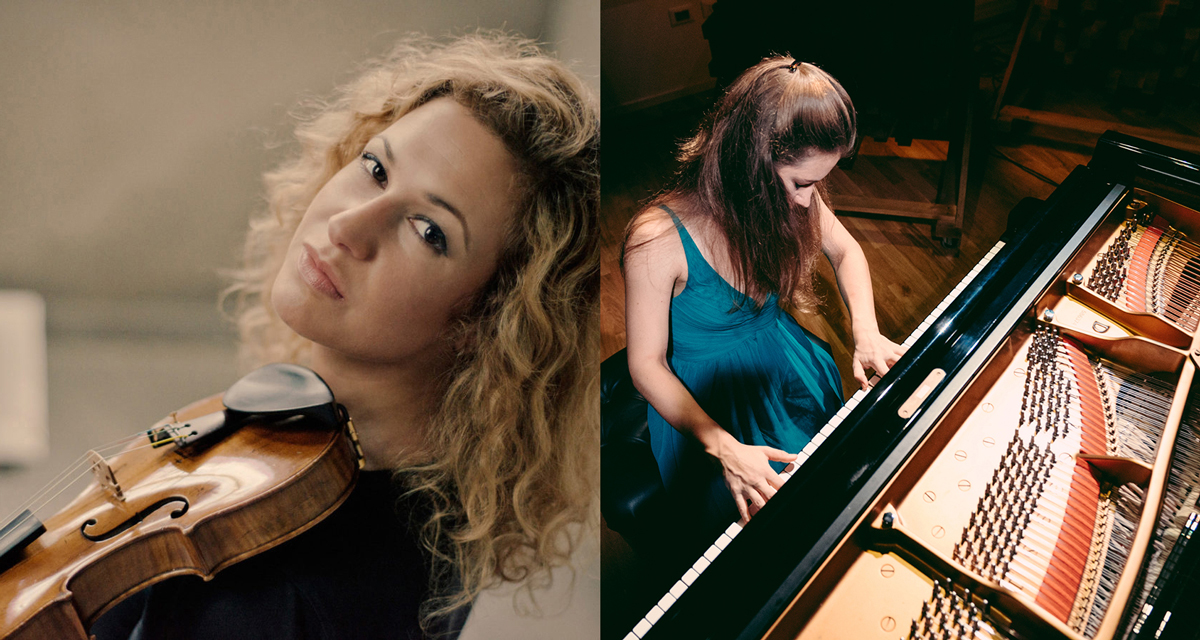 Gwendolyn Masin, viool en Vera Kooper, piano