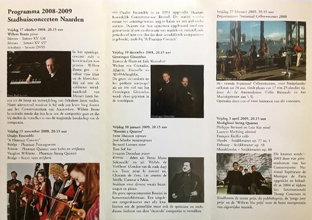 Programma 2008 - 2009